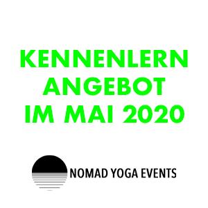 Kennenlern-Angebot im Mai 2020